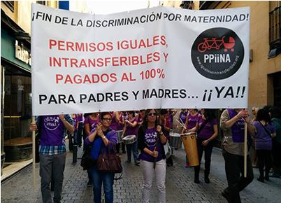 Hombres, cuidados y discriminación por maternidad