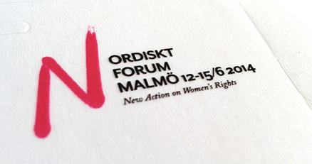 Nos vamos al Nordisk Forum!