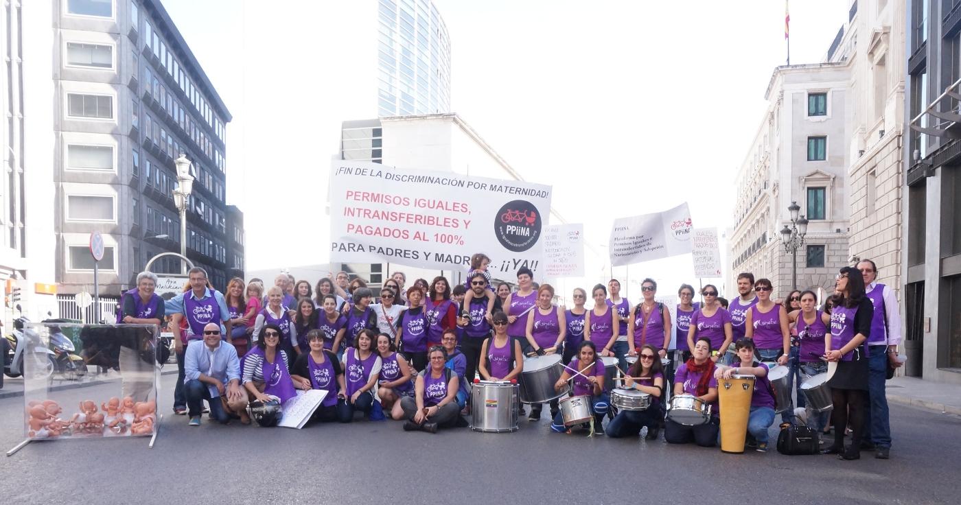 La PPiiNA reclama al Congreso de los Diputados que acabe con la discriminación por maternidad