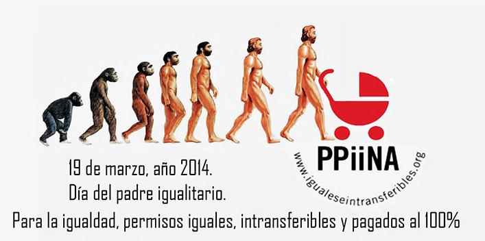 ¡Éxito mediático de la Campaña PPiiNA! #DíadelPadreIgualitario: sin permisos iguales no hay evolución