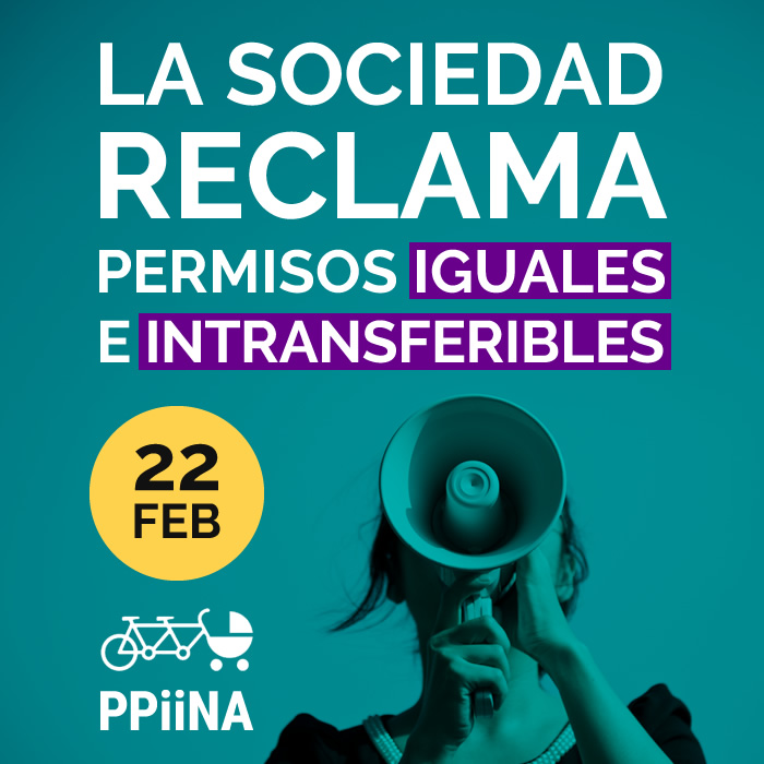 Acto 22 de febrero: 'La sociedad reclama permisos iguales e intransferibles para padres y madres'