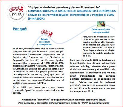 Debate ciudadano 'Argumentos económicos a favor de los PPiiNA 100%'
