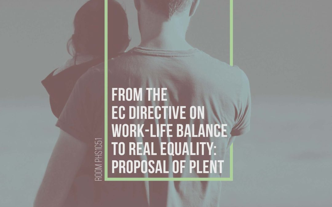 La propuesta de Directiva para equiparación de permisos parentales se debatirá el 29N en Bruselas