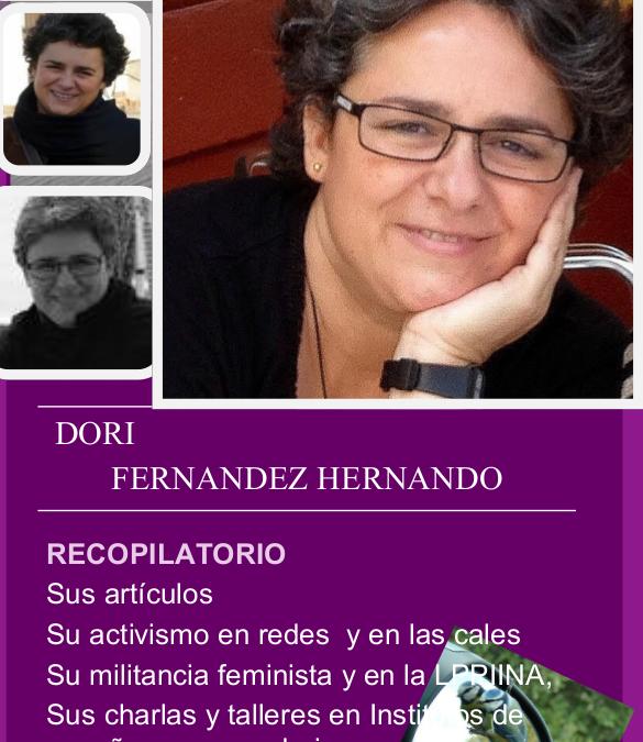#InMemoriam Dori Fernández Hernando: pasión feminista
